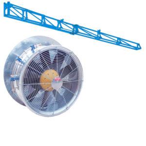 Штанги и Вентиляторы
