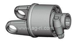 Вилка карданного вала с обгонной муфтой 093