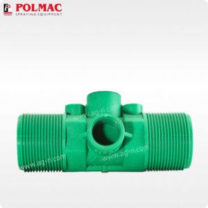 Расходомер Polmac 20 Bar 1 1/2″ зелёный
