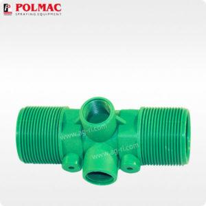 Расходомер Polmac 20 Bar 1 1/2″ зелёный рез