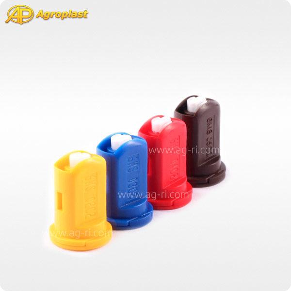 Двухфакельный инжекторный распылитель Agroplast 6MSC2 цвета