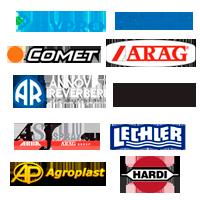 бренды оборудования для опрыскивателей