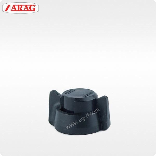 Быстроразъёмная заглушка Arag чёрная