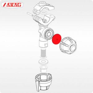 Диафрагма 005860.036 клапана отсекателя форсунки ARAG общее