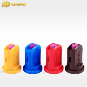 Двухфакельный инжекторный распылитель Agroplast 6MSP2 все цвета