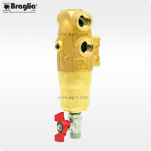 Фильтр Braglia M144 большой латунный