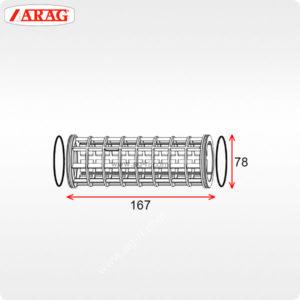 Размеры 78×167 фильтра Arag 314