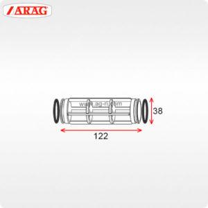 Фильтроэлемент 38×122 фильтра Arag 322-4 324-4
