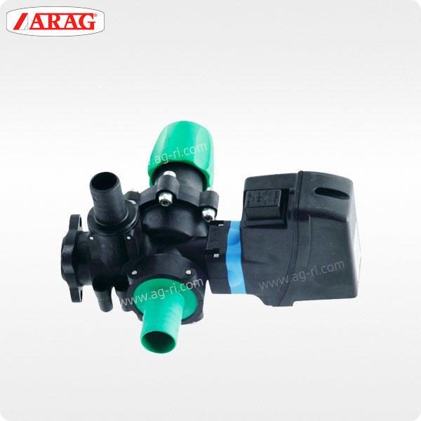 Главный электроклапан ARAG 8710502 компьютера сзади