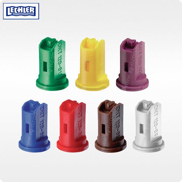Двухфакельный инжекторный распылитель LECHLER IDKT цвета