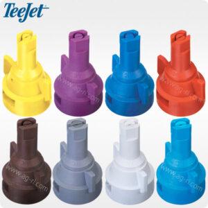 Инжекторные распылители Teejet AIC все цвета