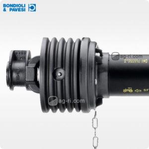 Карданний вал Bondioli & Pavesi 1210 мм з обгінною муфтою 2