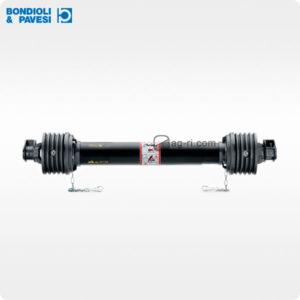 Карданний вал Bondioli & Pavesi 1210 мм з обгінною муфтою