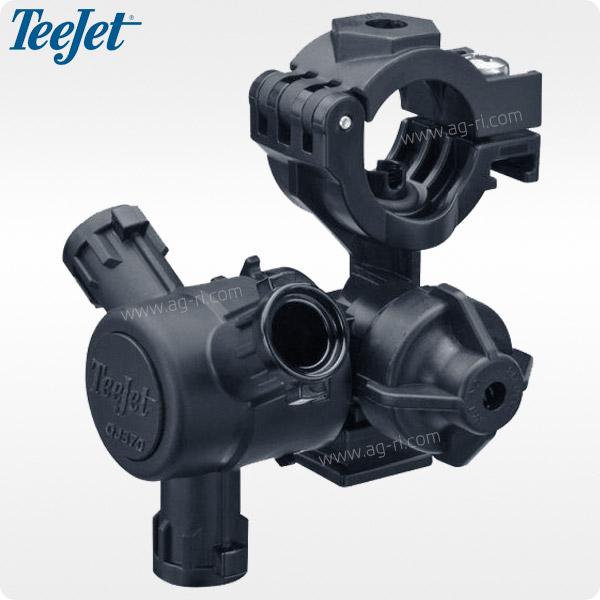 Корпус форсунки Teejet QJ373 на трубу (3 распылителя)