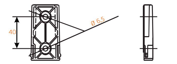 Крепление монитора Arag Bravo 180s размеры