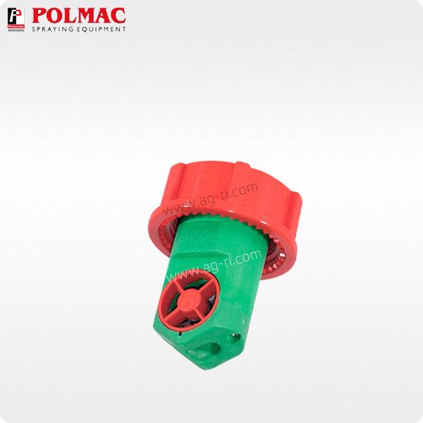 Крыльчатка (турбина) расходомера Polmac Rapid Check 41302099 красная зелёная