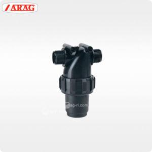 Напорный линейный фильтр arag 322-4 наружная резьба без самоочистки
