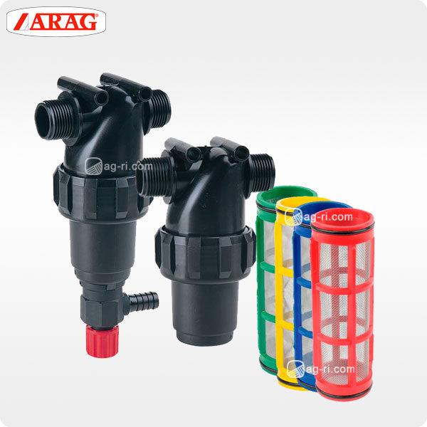 Напорный линейный фильтр arag 322-4 наружная резьба фильтроэлементы