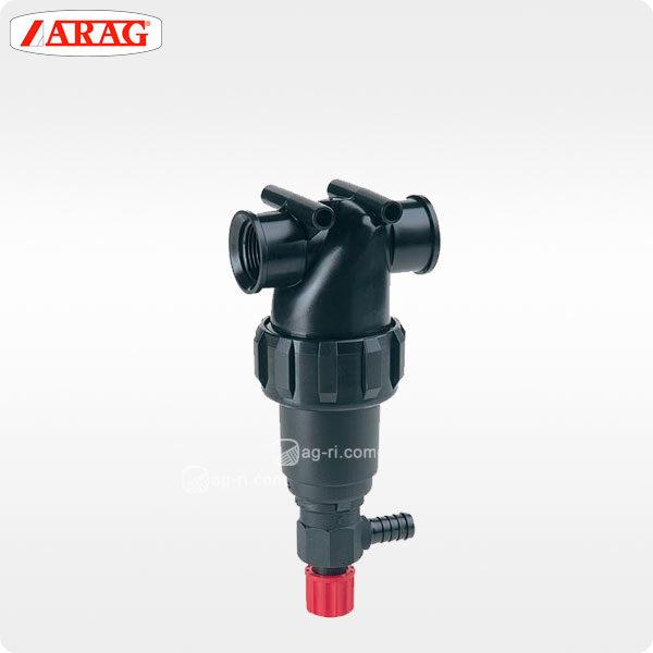 Напорный линейный фильтр arag 324-4 внутренняя резьба два варианта самоочистка