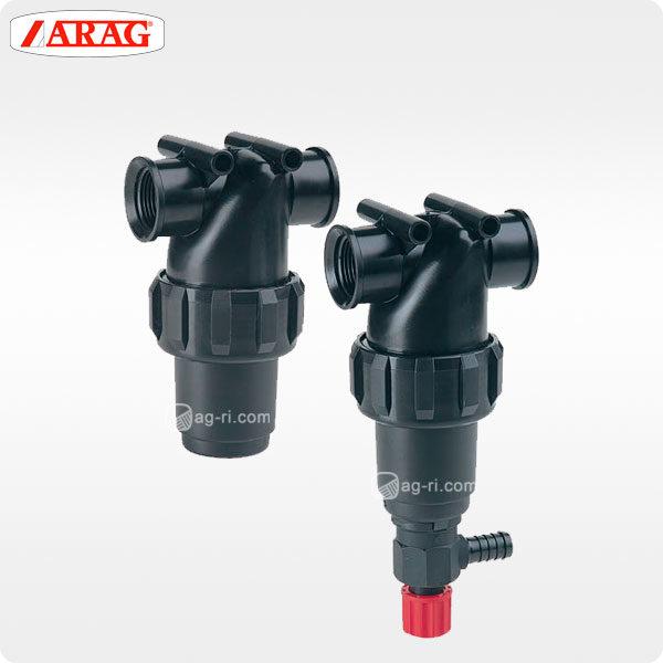 Напорный линейный фильтр arag 324-4 внутренняя резьба два варианта