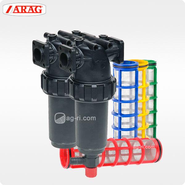 Напорный фильтр Arag 326 фланцевое соединение сетки