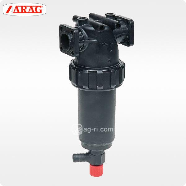 Напорный фильтр Arag 326 фланцевое соединение самоочистка