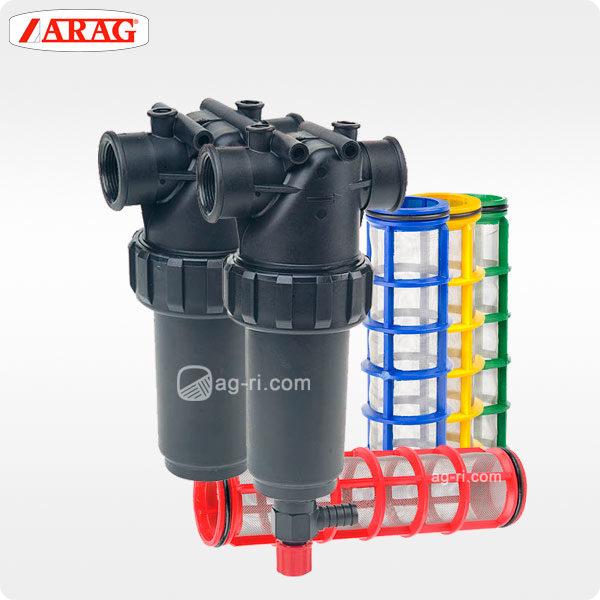 Напорный фильтр 328-2 Arag с наружной резьбой фильтроэлементы