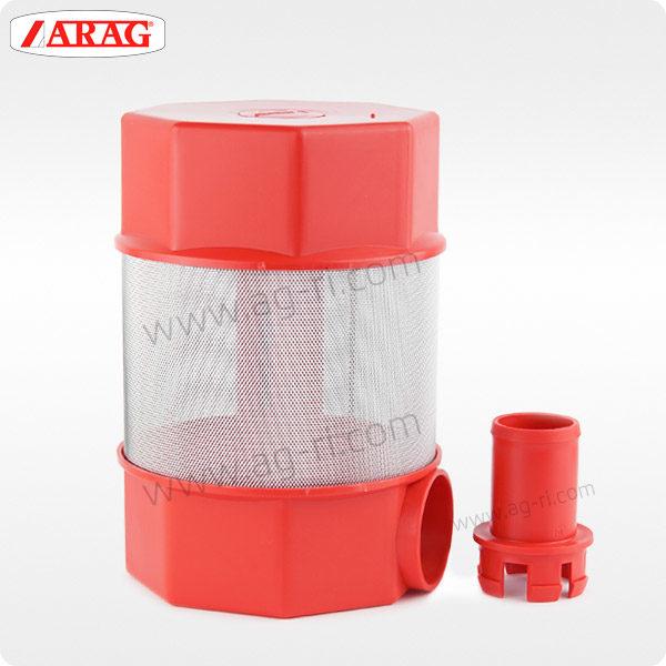 Плавающий фильтр Arag для самозакачки красный