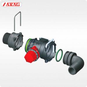 Пример Скобы Arag для фиксации фитингов