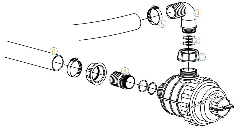 Пример комплектации фильтр 316 опрыскивателя