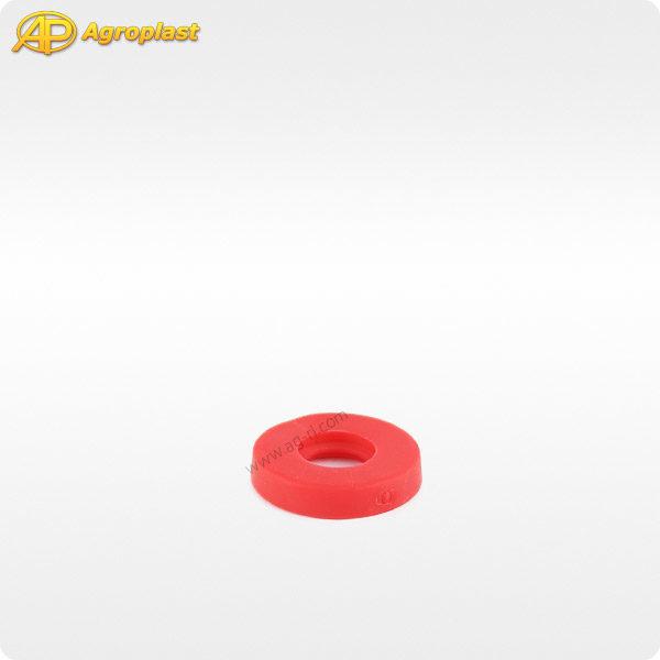 Прокладка 08 красная колпачка форсунки Agroplast 1