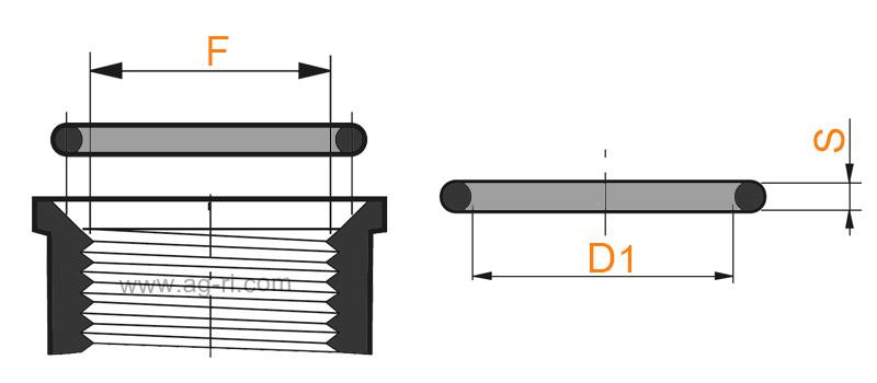 Прокладка для наружной и внутренней резьбы