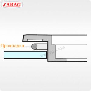 Прокладка откидной крышки ARAG бака опрыскивателя 2