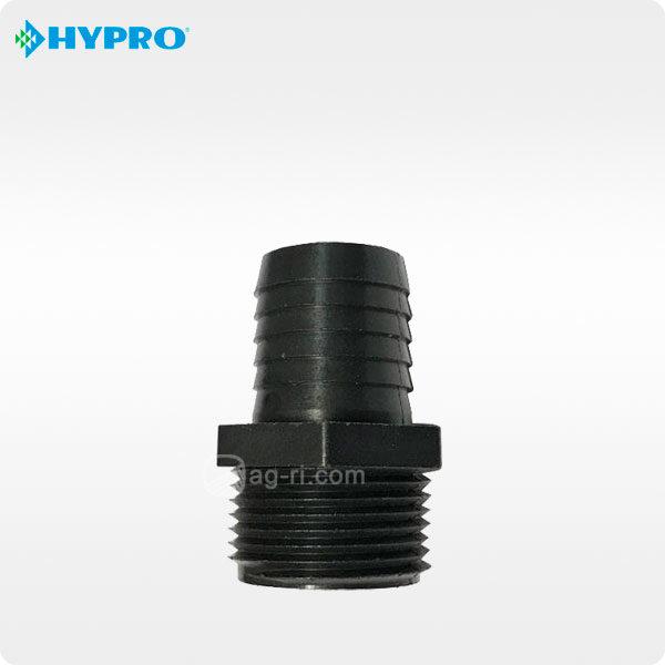 Прямой штуцер Hypro наружная резьба полипропилен npt