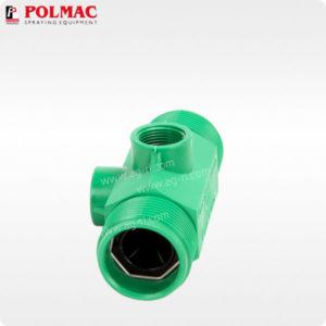 Расходомер Polmac 20 Bar резьба 1 1/4″ зелёный