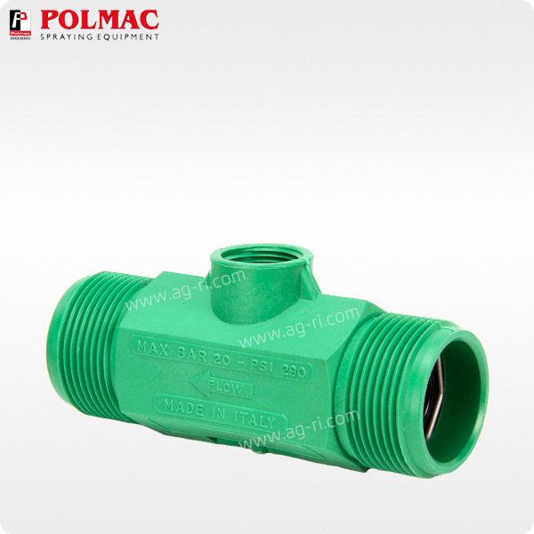 Расходомер Polmac 20 Bar 1 1/4″ зелёный 20 bar