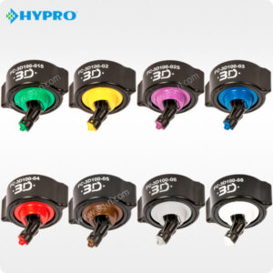 Розпилювач Hypro 3D всі кольори