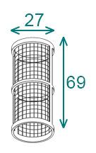 Размеры фильтроэлемента Arag серии 324-0