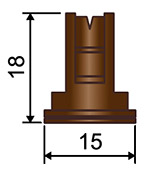 Размеры распылителя CFA