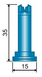 Размеры распылителя SFA
