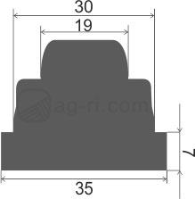 Размеры клапана Hardi 728146