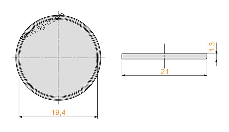 Размеры мембраны 07 Agroplast