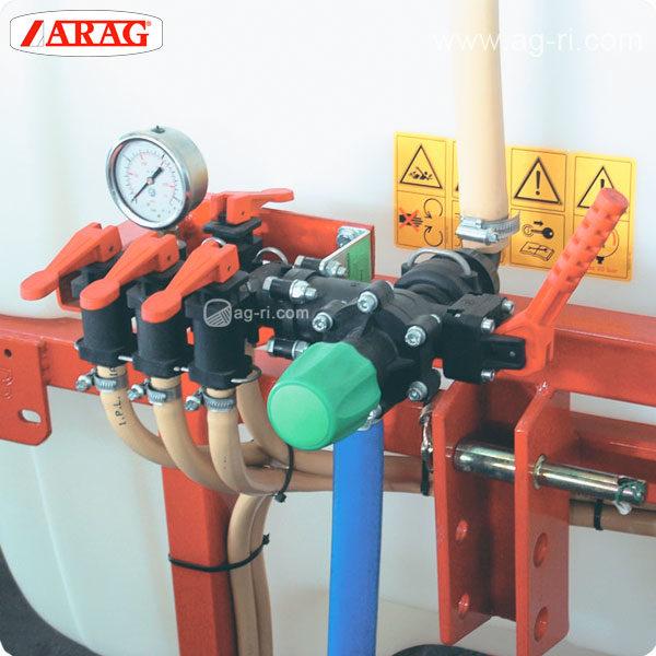 Регулятор давления Arag 471040200 пример установки