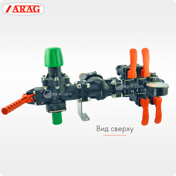 Регулятор давления Arag 471040200 вид сверху