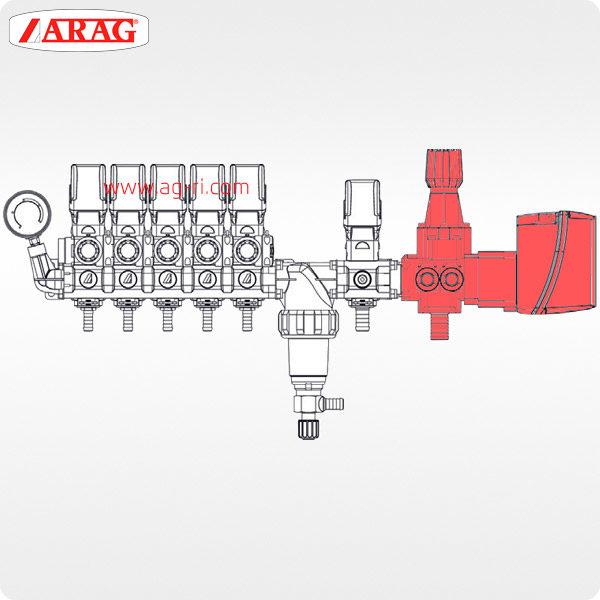 Схема главный электроклапан Arag 864 большой