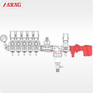 Схема главный клапан компьютера Bravo arag