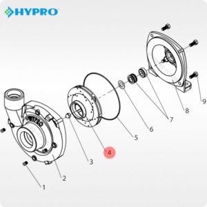 схема hypro 0401-9200p2 насоса