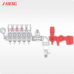 Схема клапаны Arag 871 863