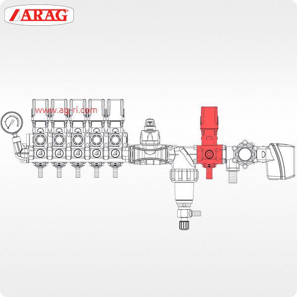 Схема Пропорциональный электроклапан ARAG 863