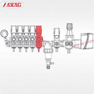 Схема Секционный электроклапан ARAG 8730011